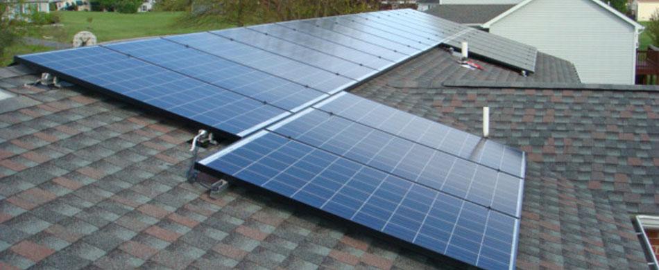 Gray Solar Roof