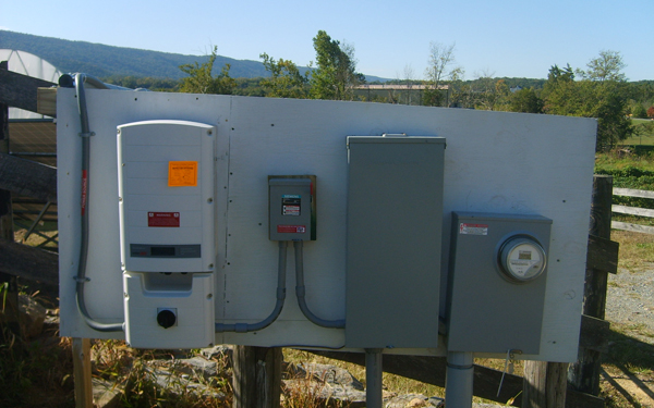 Inverter and SVEC main panel