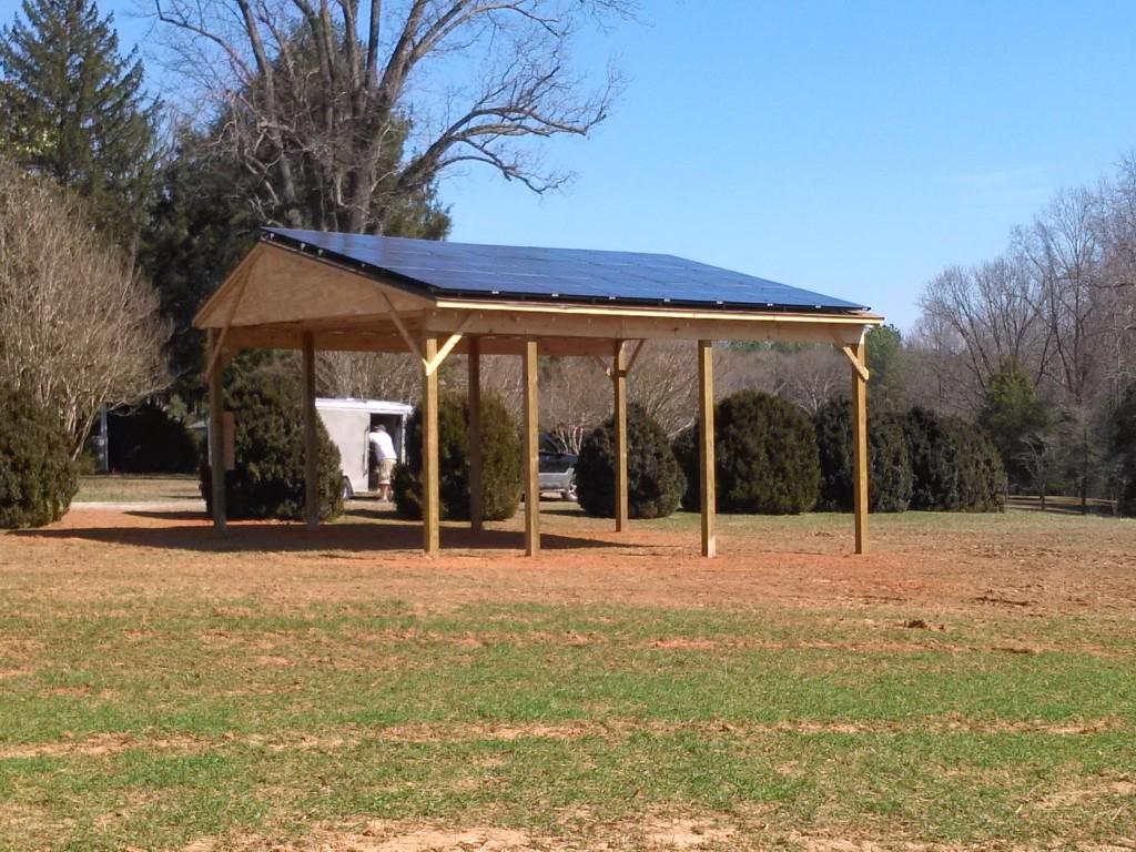Serenity Pole Barn